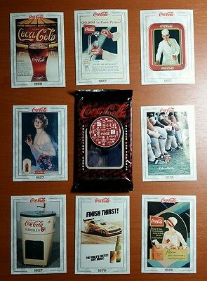 1993 Coca Cola Collectors Cards Opened Box Unsealed  Series 1 # 005