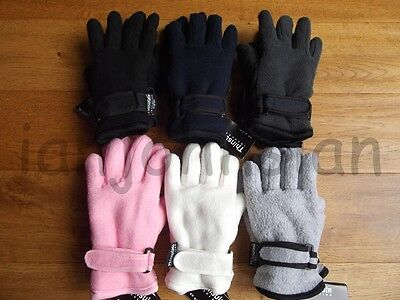 Reduced Kids Thermal Gloves Thinsulate Fleece Lined Glove Boys Girl Winter Glove