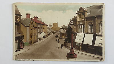 Postcard Towyn, Wales, Cambrian Square. Unposted.