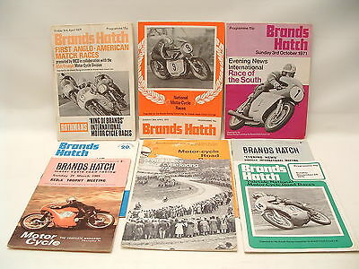 MOTOR CYCLE RACING Programmes From The 1960s/70s + Rare Crystal Palace 1927-72