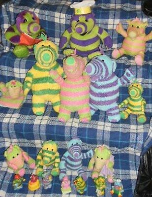 Fimbles Lot- Story Telling Roly Mo, 8 Toys, Talking Light Up Pom,  Plastic
