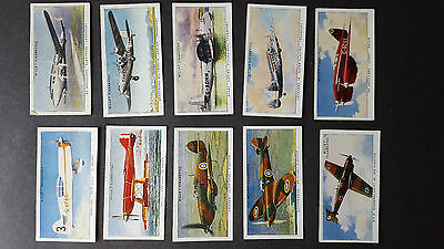 WILLS - SPEED (Title In White)-  1930 - FULL SET 50 Cigarette Cards