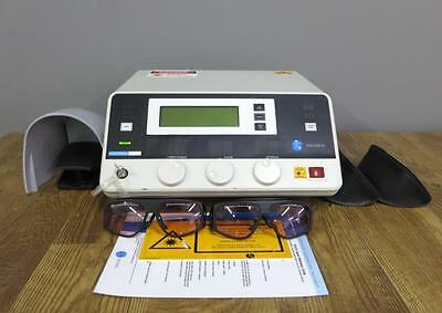 Diomed 15 Plus Laser System Cosmetic Skin Therapy Laser Diode Footswitch Key