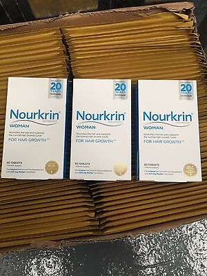 Nourkrin Woman 180 Tablets 3 Month Supply expiry Date 2018/19
