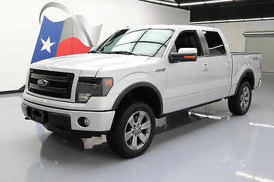2013 Ford F-150  2013 FORD F150 FX4 5.0 CREW 4X4 SUNROOF LEATHER NAV 43K #F41512 Texas Direct