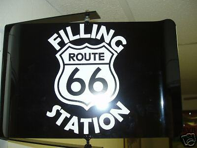 Route 66 50S Era Spinning Wall Mount Advertising Sign