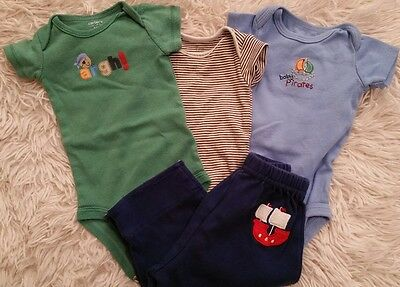 newborn Pirate onesie lot
