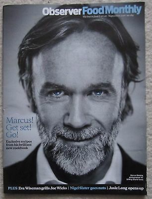 Marcus Wareing - Observer Food Monthly Magazine – September 2016