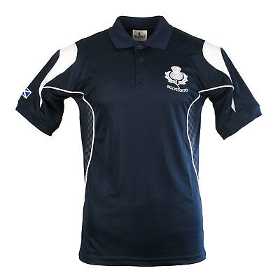 Rugby Nations Men's Scotland Racing Polo Shirt
