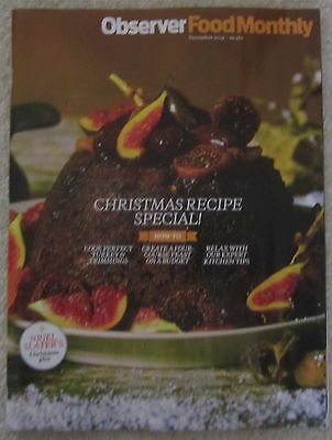 Christmas recipe special - Observer Food Monthly – November 2014