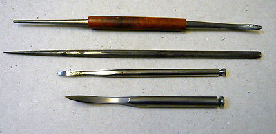 Four Etching Tools