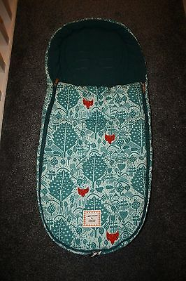 Donna Wilson Fox Leaf Footmuff  for Mamas and Papas prams
