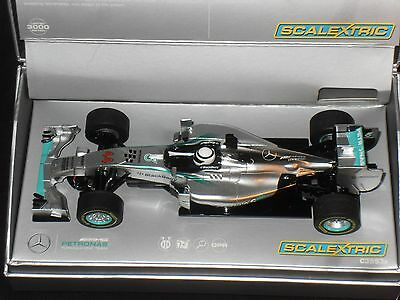 Scalextric C3593A Mercedes F1 Lewis Hamilton Limited Edition.
