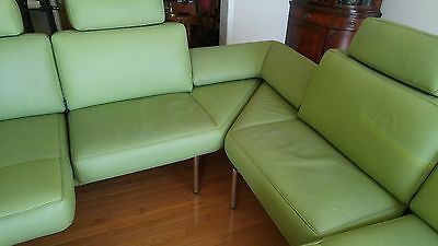 De Sede Leather Switzerland Mid-Century Modern Sectional
