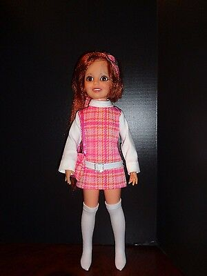 Pretty So 70's  Dress Outfit For Ideal Crissy Doll