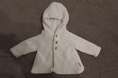 Mexx Baby Boys Knitted Hooded Fleece Lined Coat Winter & Autumn age 3-6 months