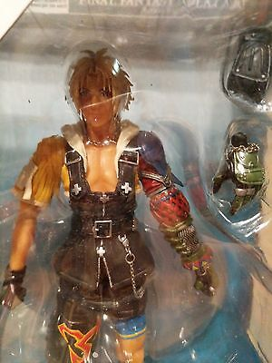 [NEW IN BOX] Square Enix Play Arts Final Fantasy 10 X Tidus Action Figure