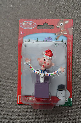 Rudolph The Red-Nosed Reindeer Mini Figure: Jack-in-the-Box