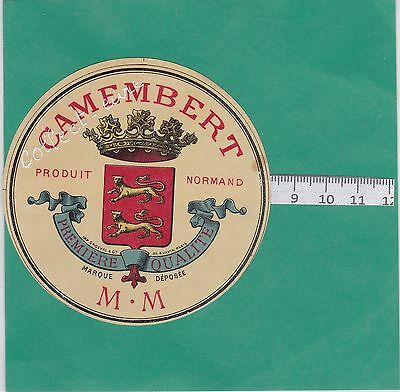 K21  Fromage Camembert  M.m Produit Normand Leopards