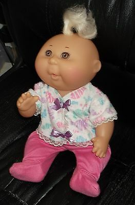 Vintage Mattel C1991 Cabbage Patch Doll In Cpk Vintage Outfit & C/w Copy Papers
