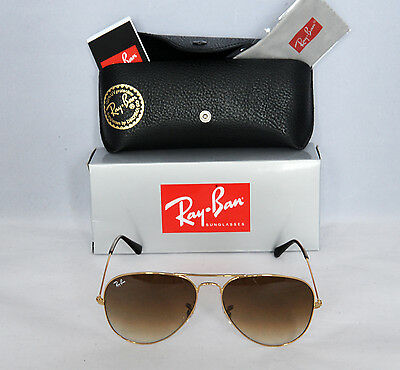Ray-Ban AVIATOR Gold/Brown Gradient RB 3025 001/51 58mm