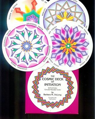 The Cosmic Deck of Initiation - 52 Mandala Cards & Booklet in Englisch - 1991
