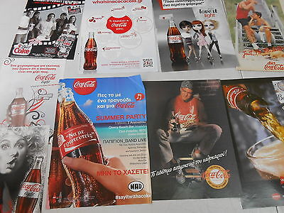 Coca Cola 24  Advertising Clippings Taken From Cyprus Magazines