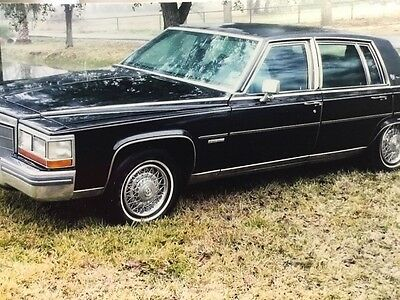 1982 Cadillac Brougham Fleetwood 1982 Cadillac Brougham Hess & Eisenhardt armored car historically significant