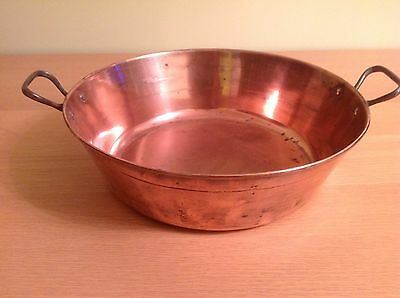 Vintage French Copper Jam Pan