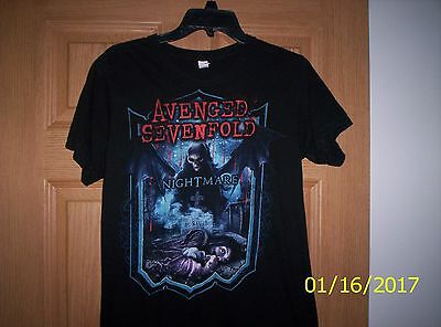 avenged sevenfold nightmare shirt size adult small