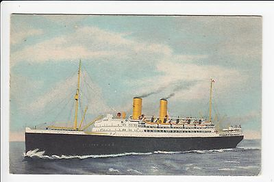 SS Montroyal  Canadian Pacific Railway Co Ship Postcard