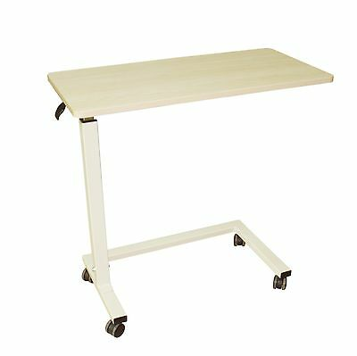 JM Overbed Table Non-Tilt Adjustable Computer Hospital Medical Tray Table - 1 pc