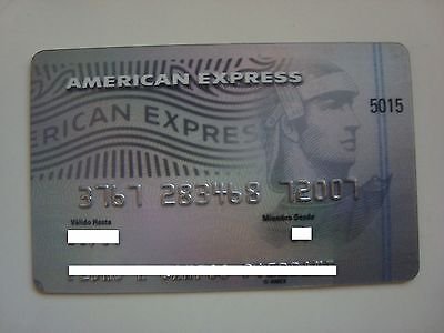 Mexico - American Express - Expired - Credit Card - Platinum
