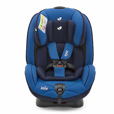 New Joie Stages Bluebird Group 0+/1/2 Car Seat 2 Way Facing Baby Carseat