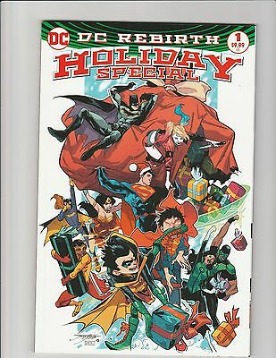 DC Rebirth Holiday Special #1 (2016 DC) HTF High Grade Low Print
