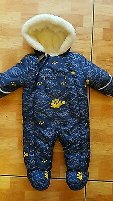 boys up to 3 months snowsuit
