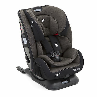 New Joie Every Stage Fx Ember Grey Group 0+/1/2/3 Isofix Car Seat Baby Carseat