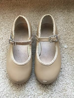 Girls Tap Shoes Size 10-By Revolution