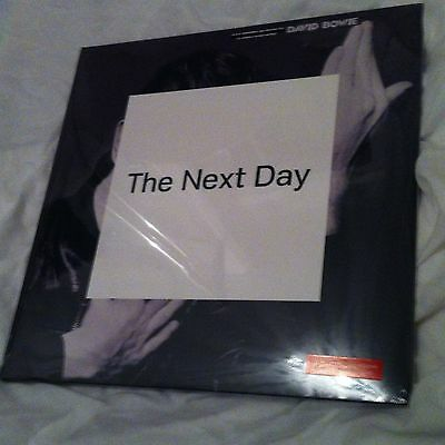 David Bowie - The Next Day - Paul Smith - Rare Limited Edition 2 Lp Red Vinyl