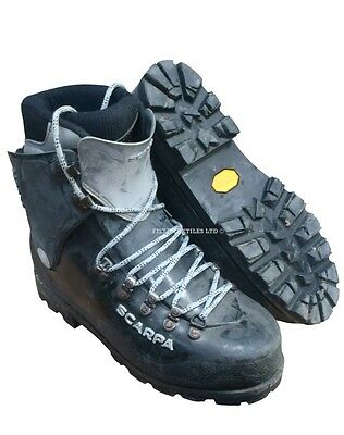 Scarpa mountaineering inverno boots vibram soles  UK size 9.5   SN2520