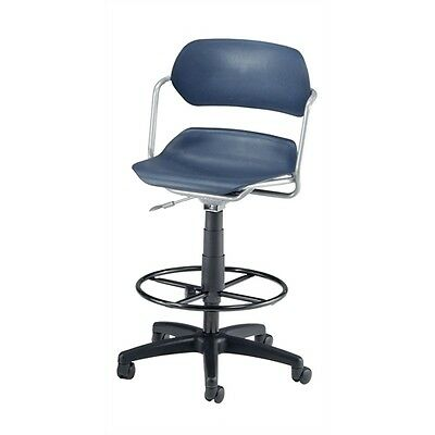 OFM Martisa Series Plastic Task Stool with Drafting Kit