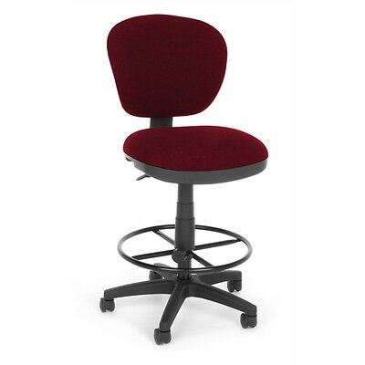 OFM Lite Use Computer Task Stool with Drafting Kit