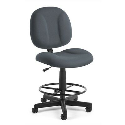 OFM Comfort Series Superchair with Drafting Kit, Gray