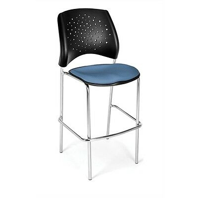 OFM Stars CafT Height Chair, Black
