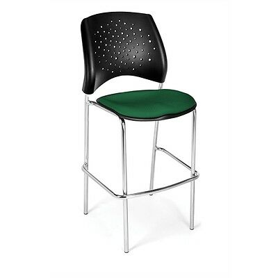 OFM Stars CafT Height Chair, Forest Green