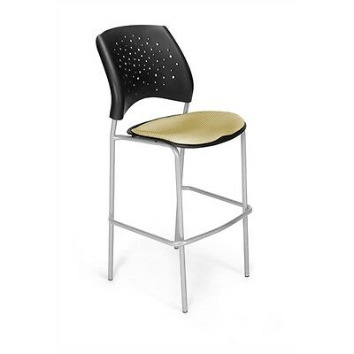 OFM Stars CafT Height Chair, Golden Flax