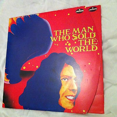 David Bowie - The Man Who Sold The World - German Round Sleeve Vinyl Lp - Rare