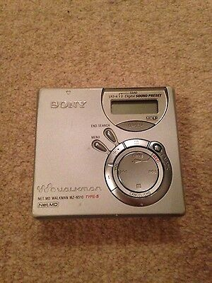 Sony Net MD MZ-N510 MiniDisc Player/Recorder