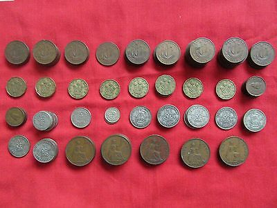 WW2 British Money 135 Coins Pennies Half Pennies Shillings Farthing, Home Front