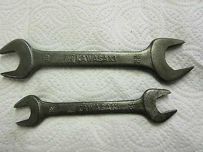 kawasaki spanner wrench rare tool kit items butterfly in box z1 ? h1 ? h2 ?